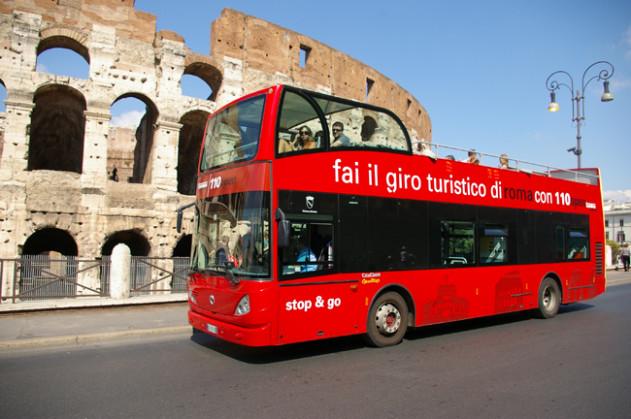 bus 110 open roma