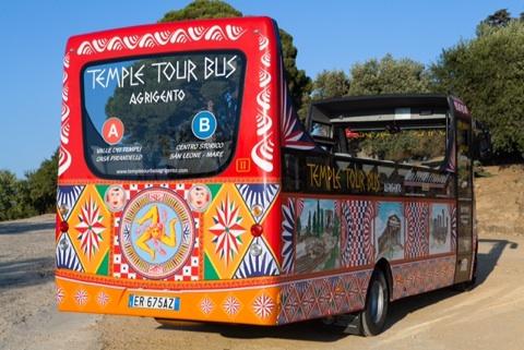 temple tour bus