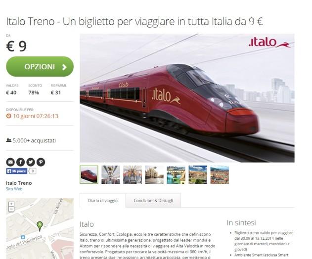 Italo groupon