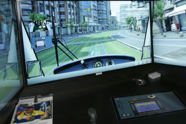 Simulatore tram
