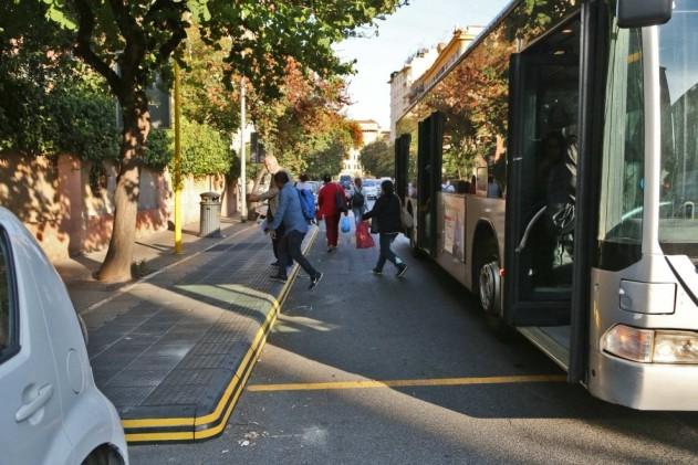 pedane bus